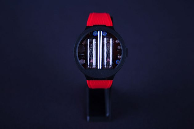 Nixoid Nixie Tube Wristwatch