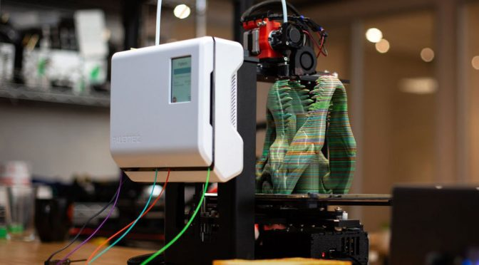 Palette 2 Will Turn Your 3D Printer Into A Multi-Material 3D Printer