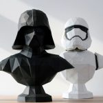 Why 3D-Print A Darth Vader Bust When Papercraft Will Do Too?