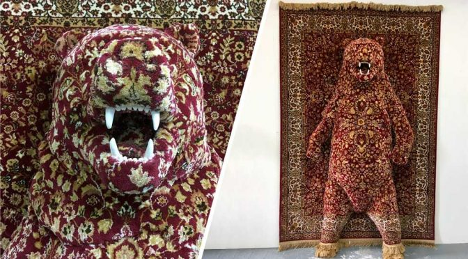 Persian Rug Animal Sculptures: Where Animals Emerged From Persian Rugs