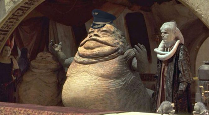 Pilot Used Jabba the Hutt As Reference