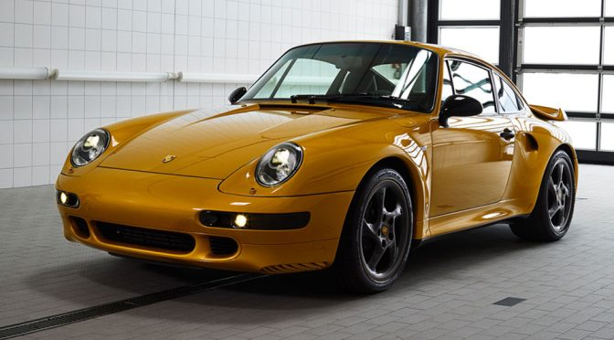 Porsche 'Project Gold' Turns Out To Be An Air-cooled Classic 911 Turbo