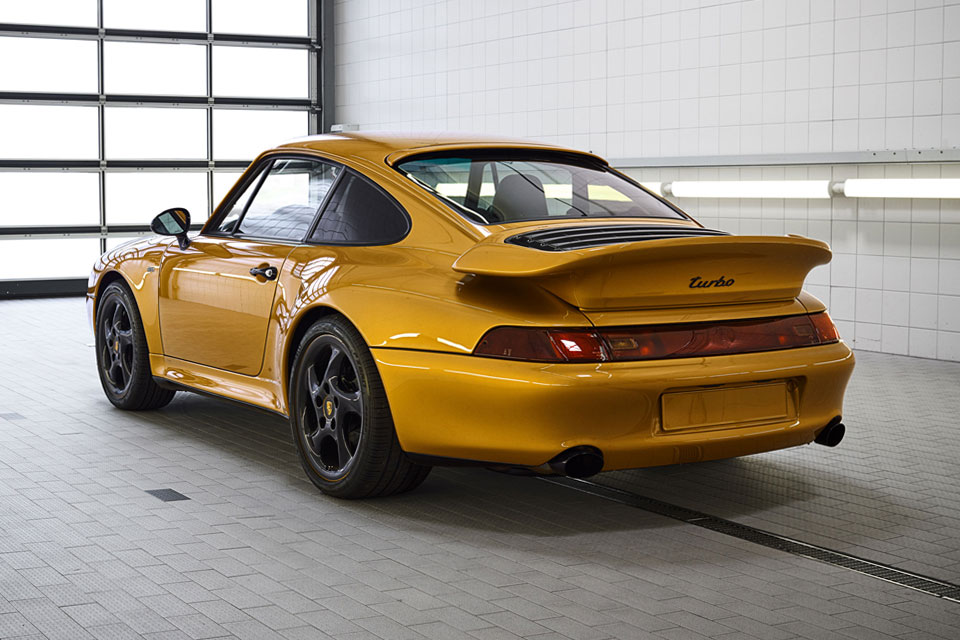 "Porsche ""Project Gold"" 911 Turbo"