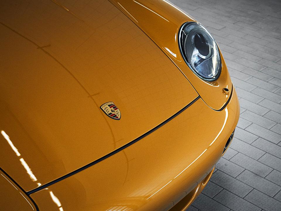 "Porsche ""Project Gold"" 911 Turbo"