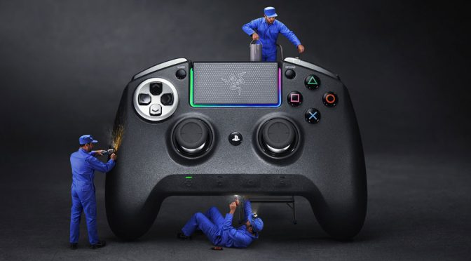 Razer Unveiled New Game Controllers And Headset For PS4