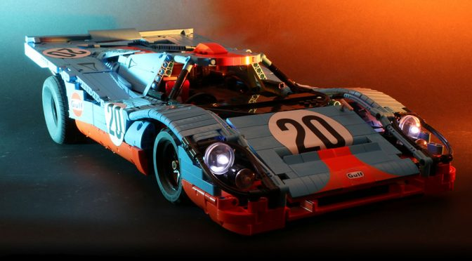 Check Out This Incredible LEGO RC 1970 Porsche 917K Build By Sariel