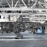 Here's A Look At Street Artist RISK's Massive Scraps-made Shark Sculpture