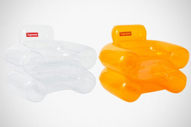Supreme PVC Inflatable Armchair