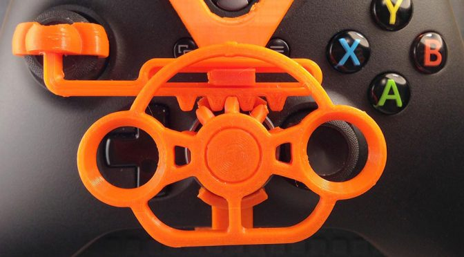 Who Needs A Gaming Steering Wheel When You Can 3D Printed A Mini One?