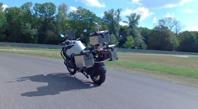 You Heard Of Autonomous Cars, Now Meet The Autonomous Motorcycle