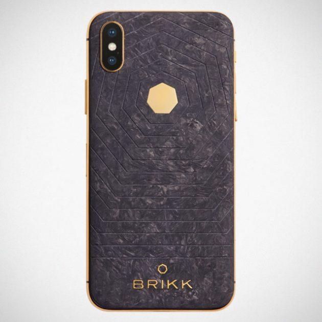 Brikk Lux iPhone Xs Carbon and Xs Plus Carbon