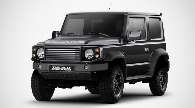 This Kit Will Turn A 2019 Suzuki Jimny Into A Land Rover Defender