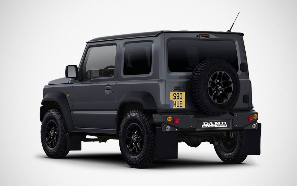 this kit will turn a 2019 suzuki jimny into a land rover. Black Bedroom Furniture Sets. Home Design Ideas
