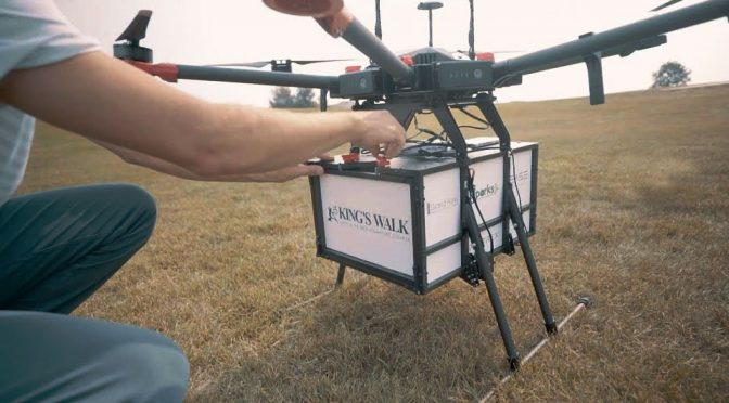 Golf Course Trials Flytrek Delivery Drone To Delivery Food To 19th Hole
