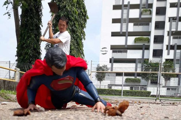 Forced Perspective Photos With Action Figures
