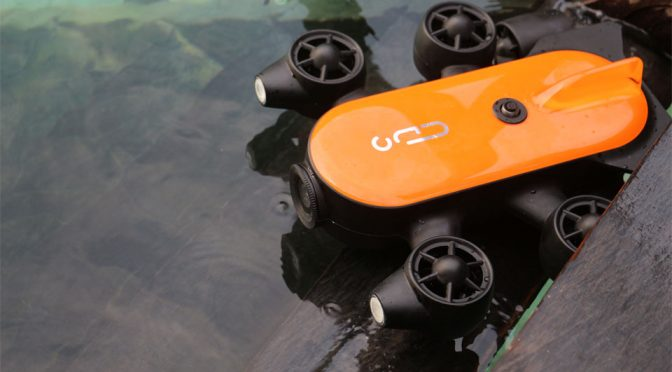Geneinno's 6-Thruster Underwater Drone Is Now On Indiegogo