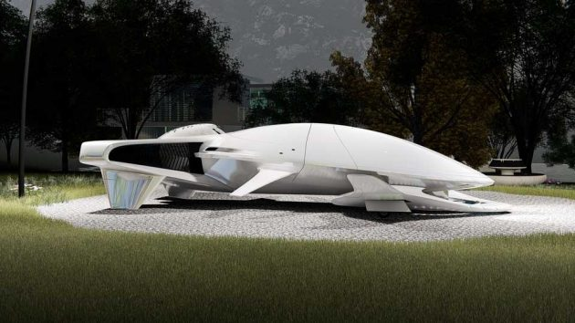 Hyperlight Aeros Amphibious Vehicle
