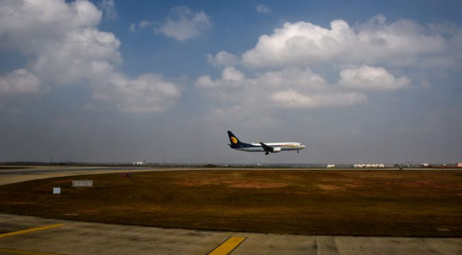 Jet Airways Failed To Pressurized Cabin