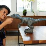 Mattel's <em>Jurassic World</em> Alpha Training Blue Robot Previewed