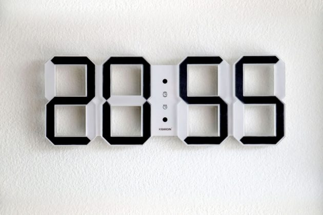 KIBARDIN Design E-blister Wall Clock