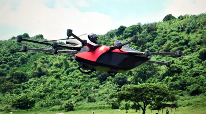 Koncepto Millenya Drone Car