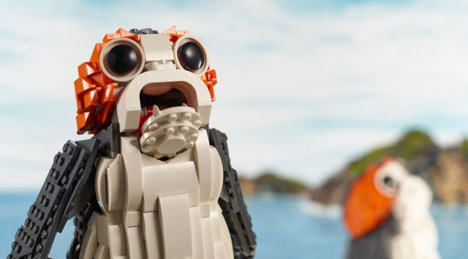 """Leaked"" LEGO ""Life-size"" Porg Set Now Officially On LEGO Online Store"