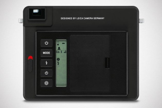 Leica SOFORT Instant Camera Black