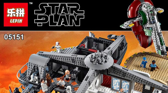Blatant Copy Of LEGO Betrayal At Cloud City Is Already In The Market