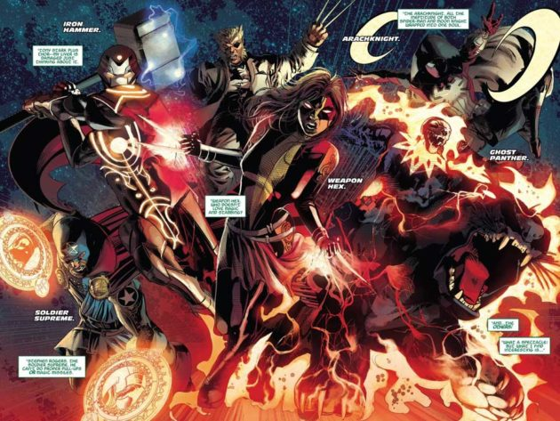 Marvel Infinity Warps