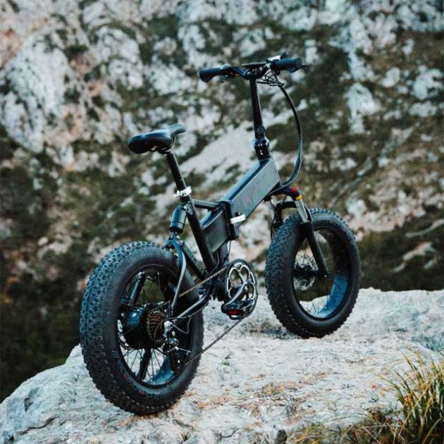 Mate X Electric Folding Bike