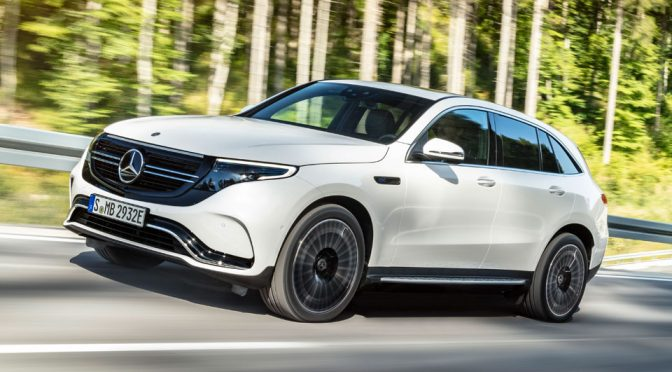 Mercedes-Benz's First Electric SUV Has 300 kW, Makes 0-62 In 5.1s