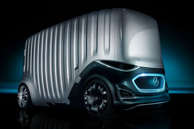 Mercedes-Benz Vision URBANETIC Mobility