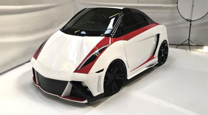 "Mikro MM1 Is A Tiny Electric ""Supercar"" That Is Super Adorable"