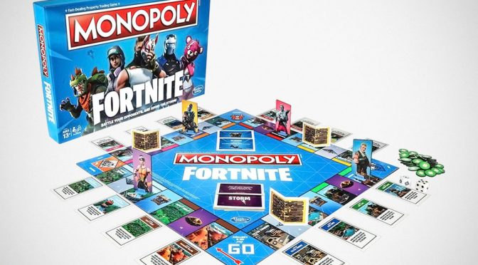 <em>Fortnite</em> Video Game Gets Its Own Monopoly Board Game