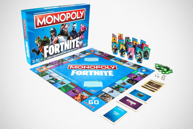 Monopoly Fortnite Edition Board Game