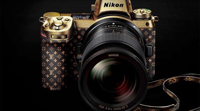24K Gold Nikon Z7 Louis Vuitton Edition Should Not Be A Joke