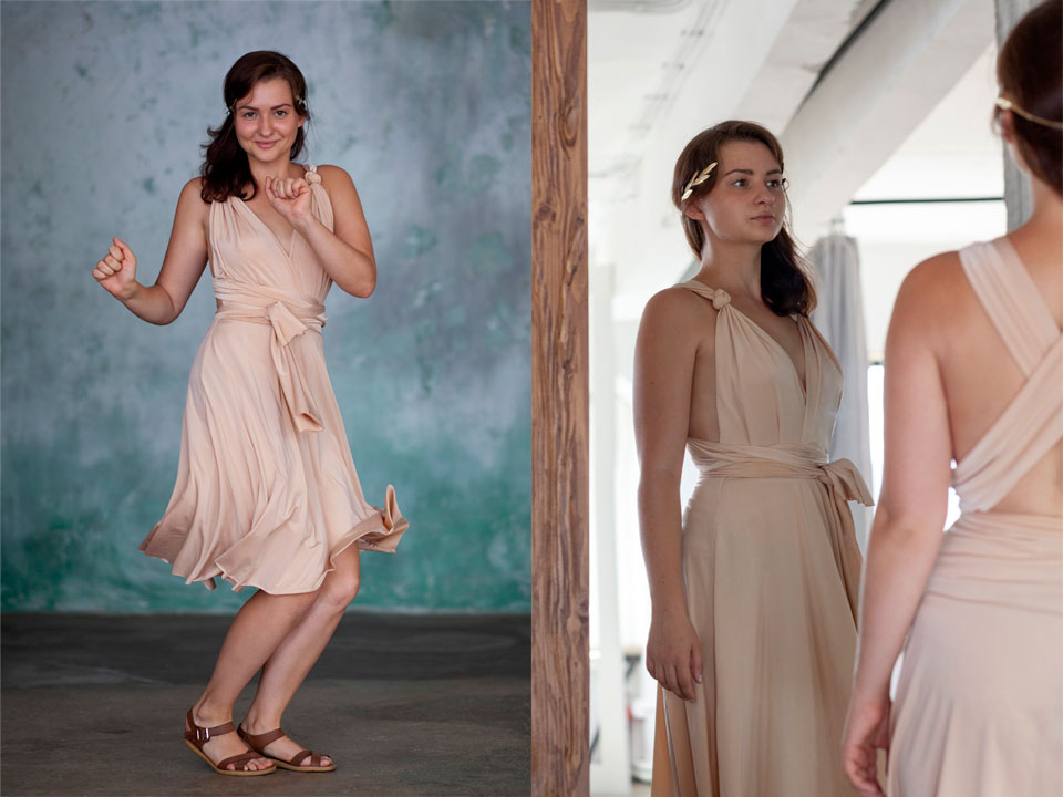 Omnia Chéri Convertible Dress