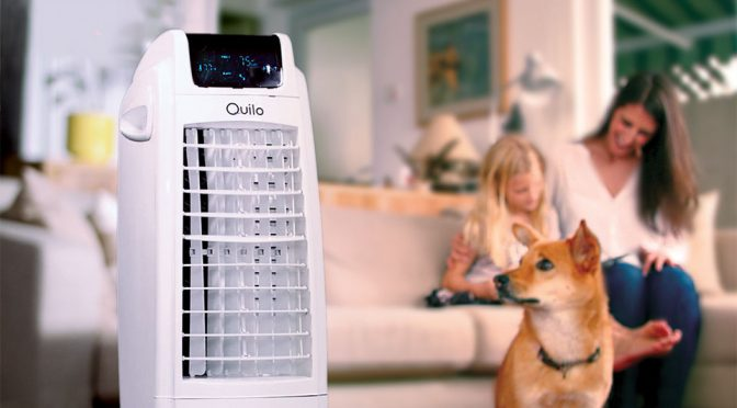 Quilo 2.0 4-in-1 Smart Tower Fan