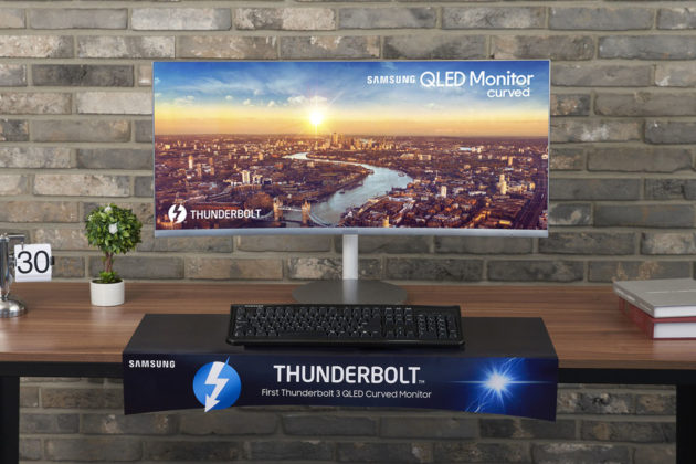 Samsung CJ79 Curved Monitor