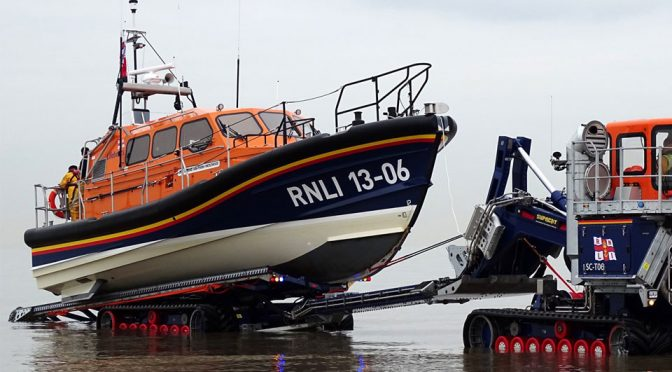 This Is Shannon, A Self-righting, Water Jets-Propelled Lifeboat
