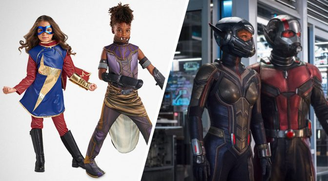 Shuri and Ms. Marvel Costumes