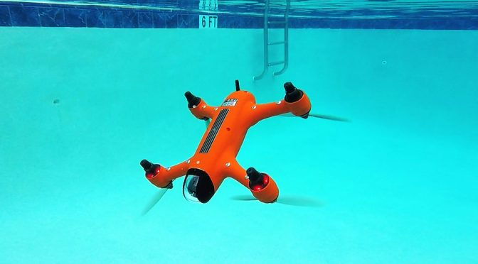 Spry Is The Imaging Drone Of Choice For Water Sports, Because Waterproof