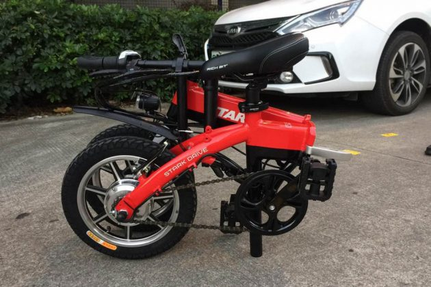 Stark Drive Mini Folding Electric Bicycle