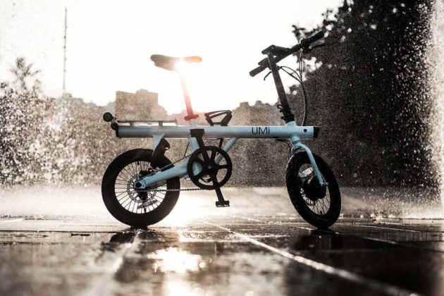 Uni Micro Electric Folding Bike