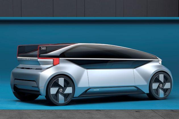 Volvo 360c Autonomous Concept Car