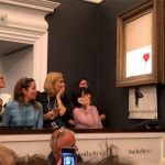Banksy's Painting 'Self Destructs' Moments After Successful Bidding