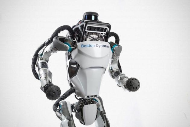 Boston Dynamics Parkour Atlas Robot