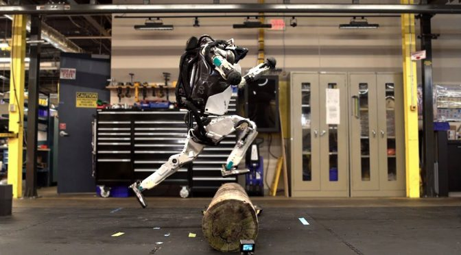 Boston Dynamics' Atlas Bipedal Humanoid Now Does Parkour Too