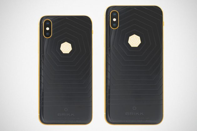 Brikk Lux iPhone Xs and Xs Max Ceramic Black