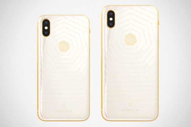 Brikk Lux iPhone Xs and Xs Max Ceramic White